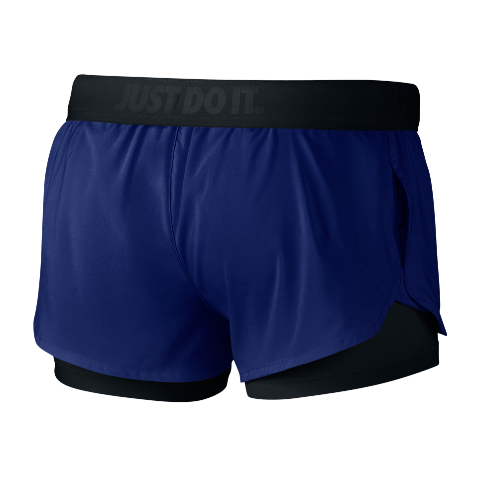 Nike Women's Full Flex 2-in-1 Training Short Deep Royal