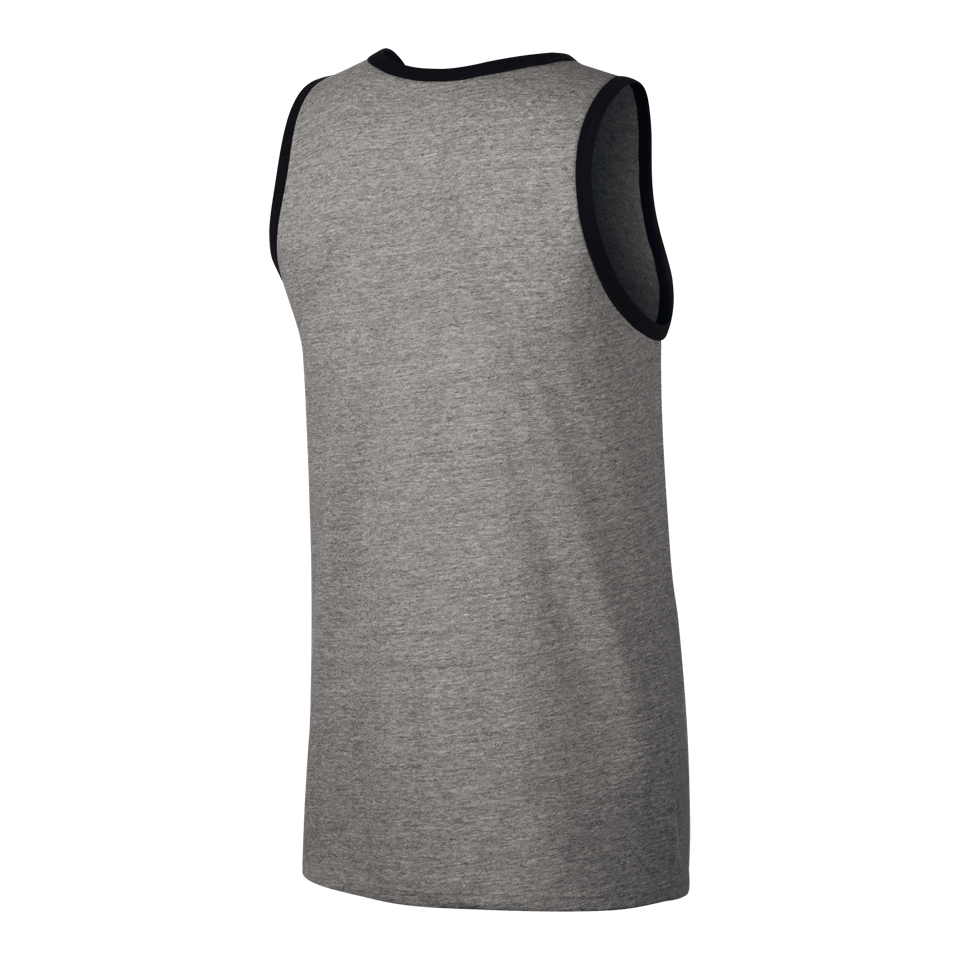 Nike Men's Ace Logo Tank Dark Grey Heather