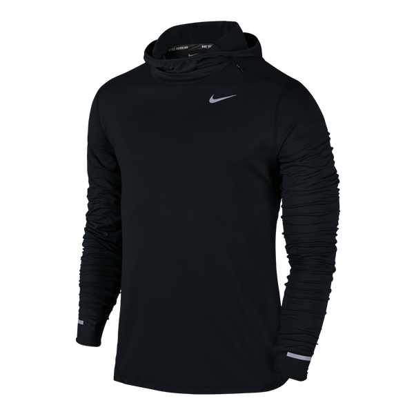 Nike Men's Dry Element Running Hoodie Black