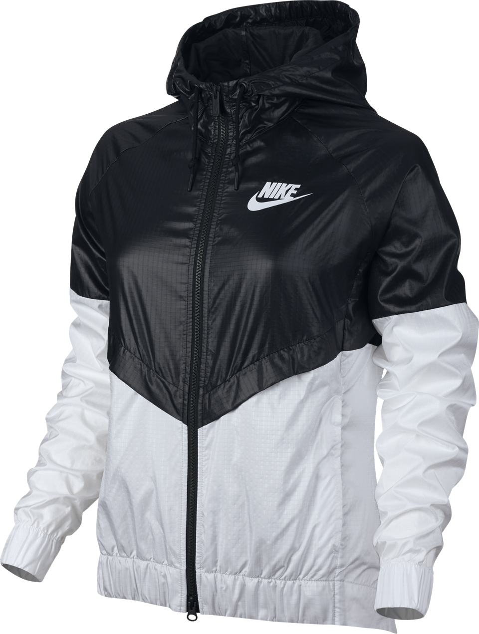 Nike Women's Sportswear Windrunner Jacket Black/White