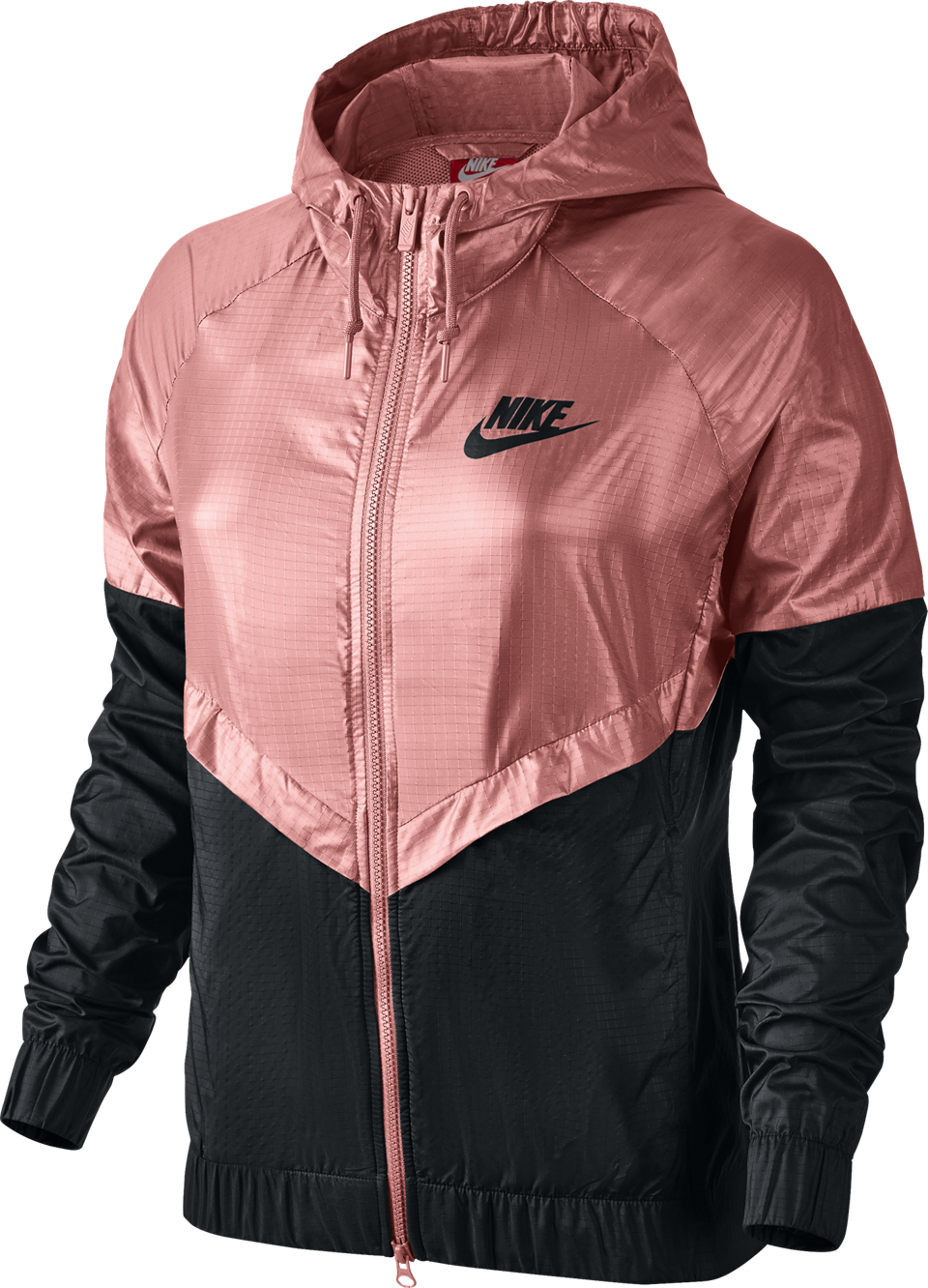 Nike Women's Sportswear Windrunner Jacket Vivid Melon/Black