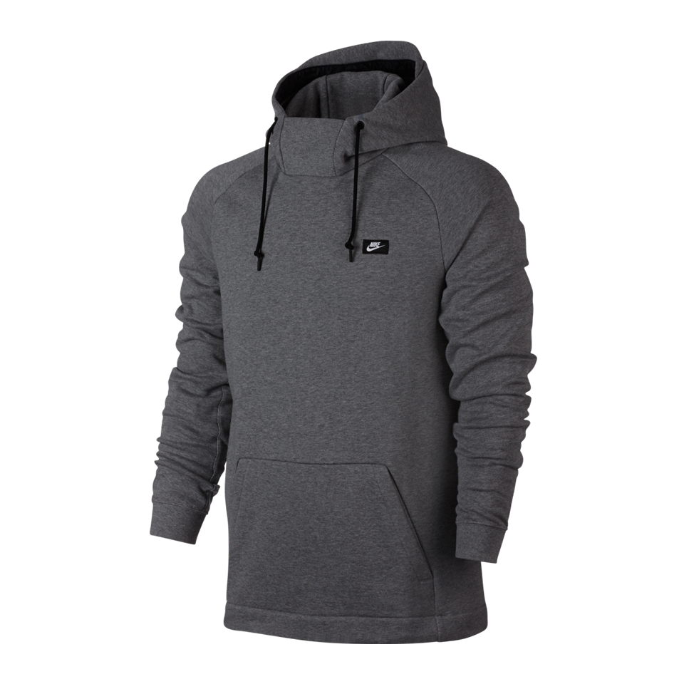 22ca17f13e8b Nike Men s NSW Modern Fleece Pullover Hoodie Carbon Heather - Play Stores  Inc
