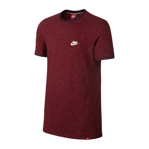 d09a62b5 Nike Men's Legacy Shirt Team Red Heather