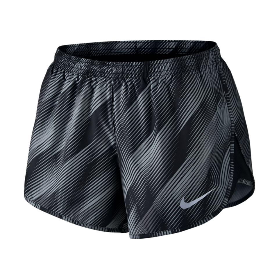 Nike Women's Tempo Short Black Print