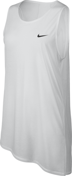 Nike Women's Breathe Tank White