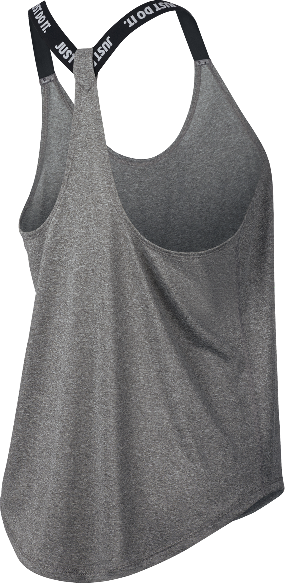 Nike Women's Elastika Dry Tank Carbon Heather