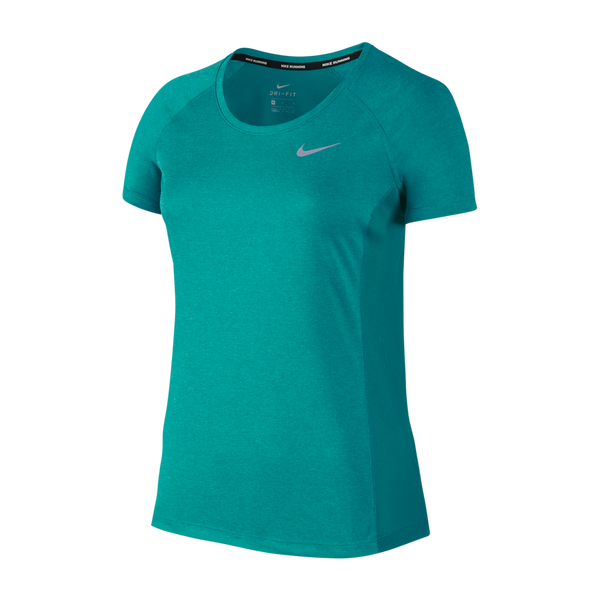 Nike Women's Dry Miler Top Turbo Green