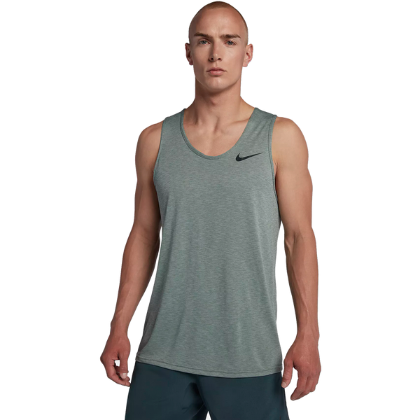 Nike Men's Breathe Training Tank Clay Green