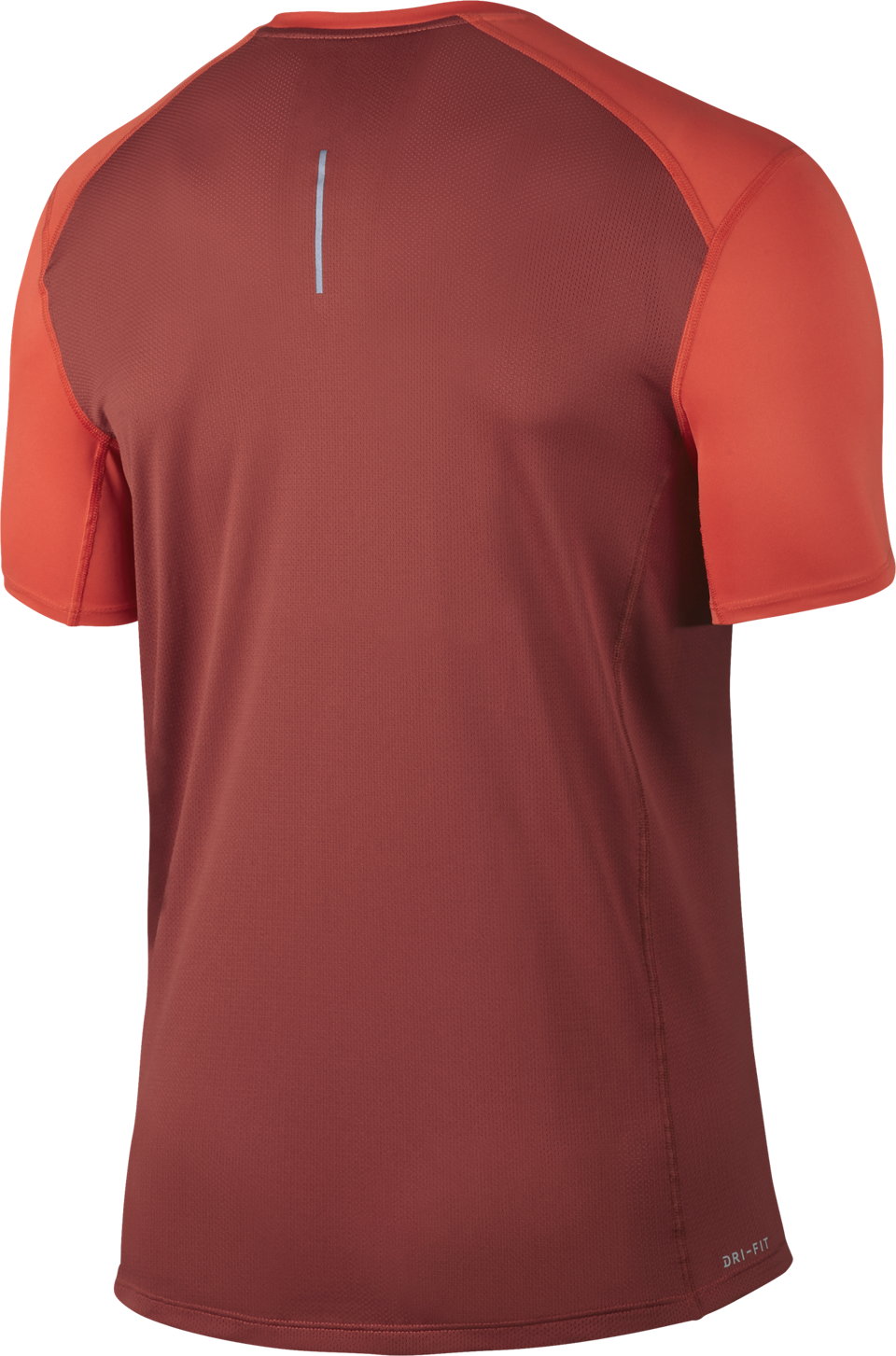 Nike Men's Dry Miler Top Short Sleeve Max Orange