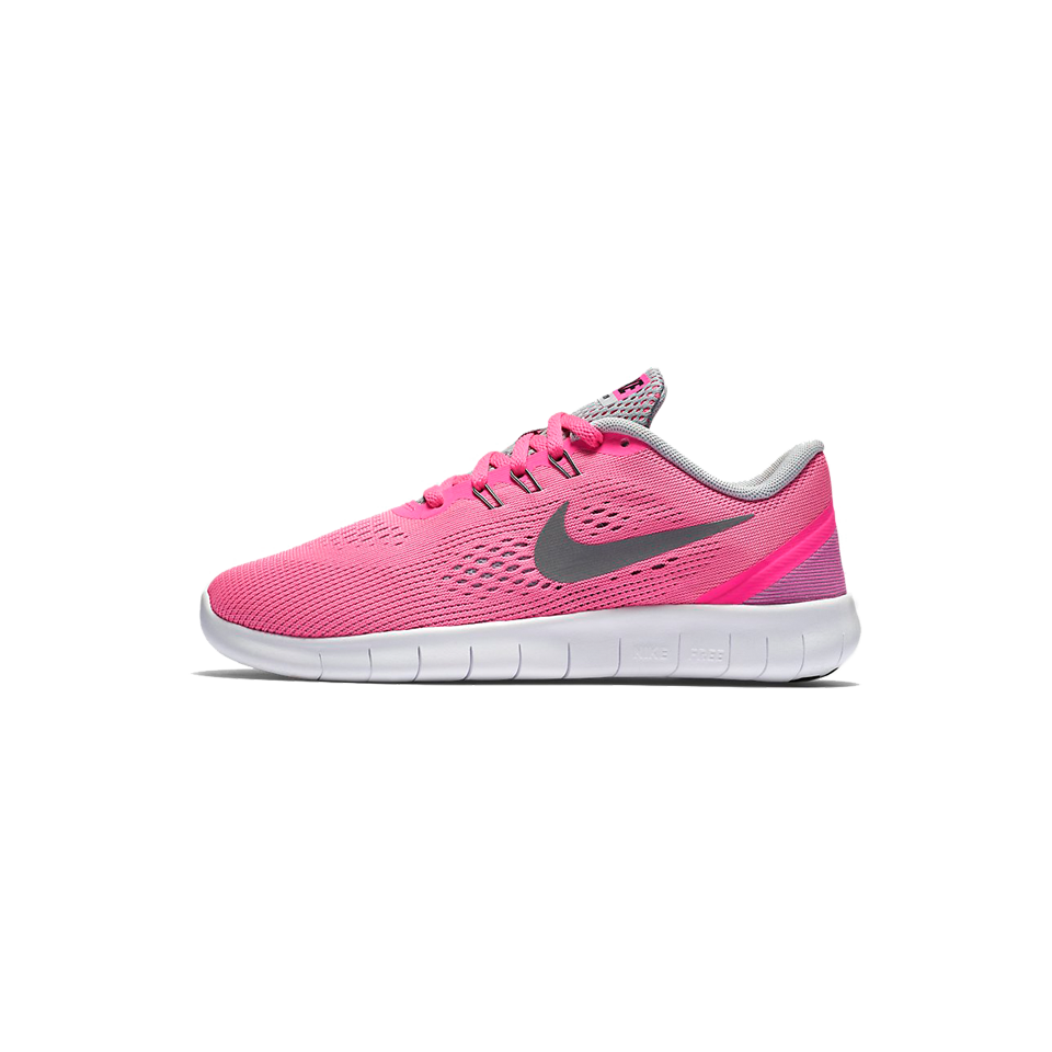 9a05b78cde7a Nike Girls Free Run Wolf Grey - Play Stores Inc