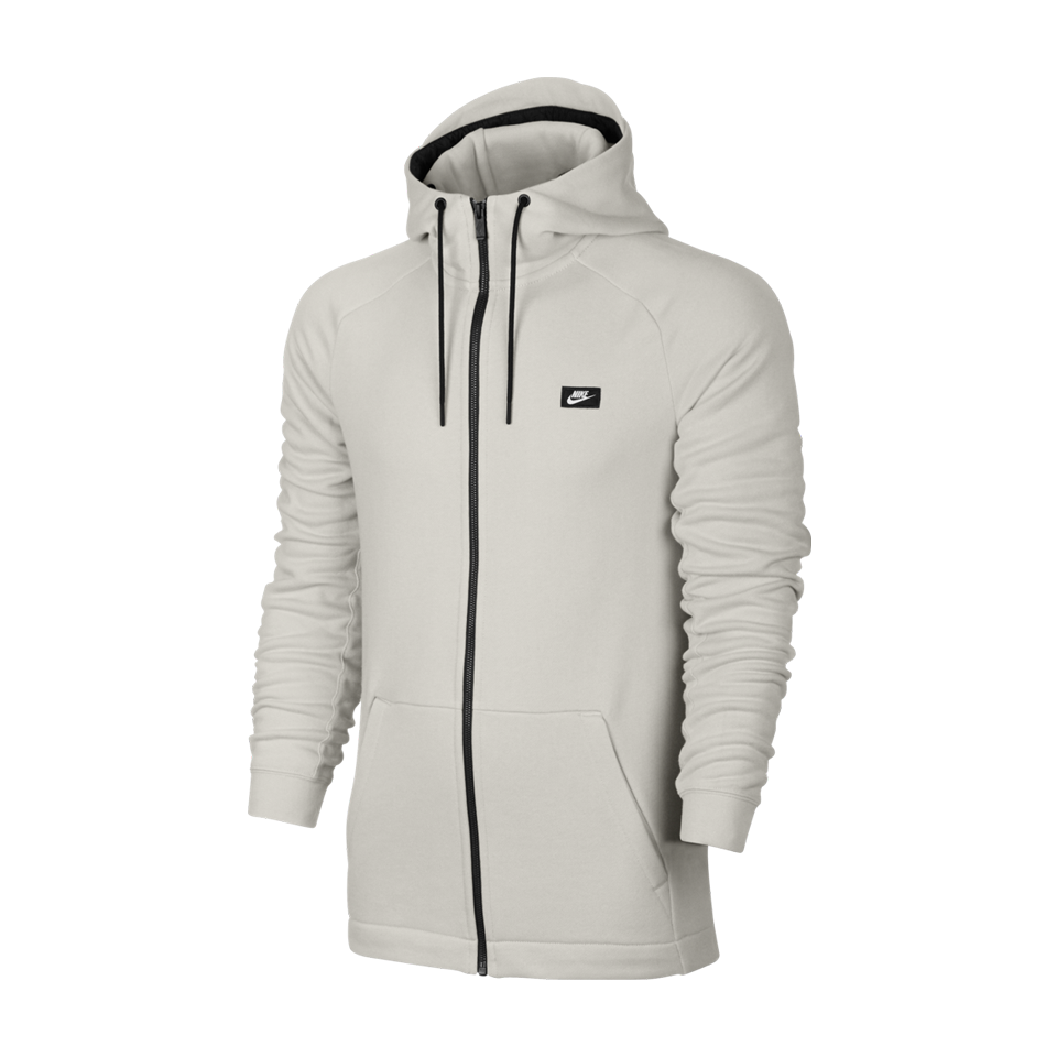 8f6c2de92d77 Nike Men s NSW Modern Full Zip Hoodie Light Bone - Play Stores Inc