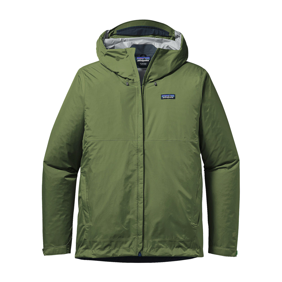 Patagonia Men's Torrentshell Jacket Buffalo Green