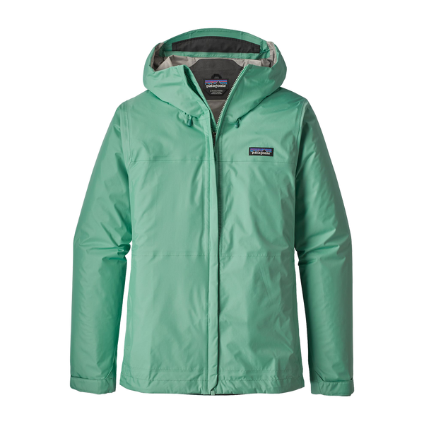 Patagonia Women's Torrentshell Jacket Vjosa Green