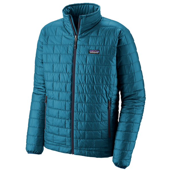 Patagonia Men's Nano Puff Jacket Balkan Blue