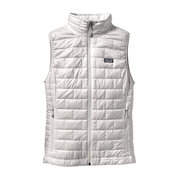 Patagonia Women's Nano Puff Vest Birch White