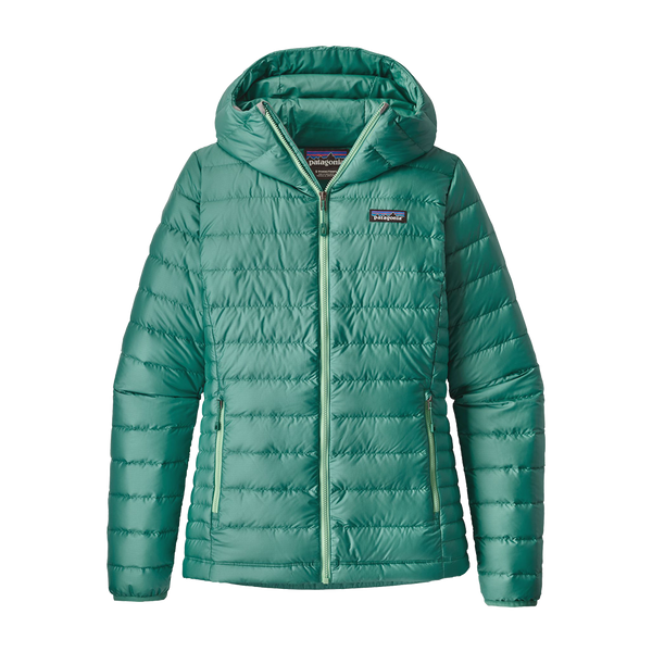Patagonia Women's Down Sweater Hoody Beryl Green