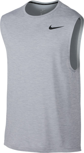 Nike Men's Breathe Muscle Tank Pure Platinum