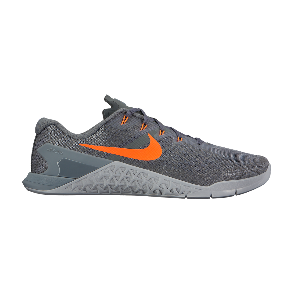Nike Men's Metcon 3 Dark Grey/Hyper Crimson