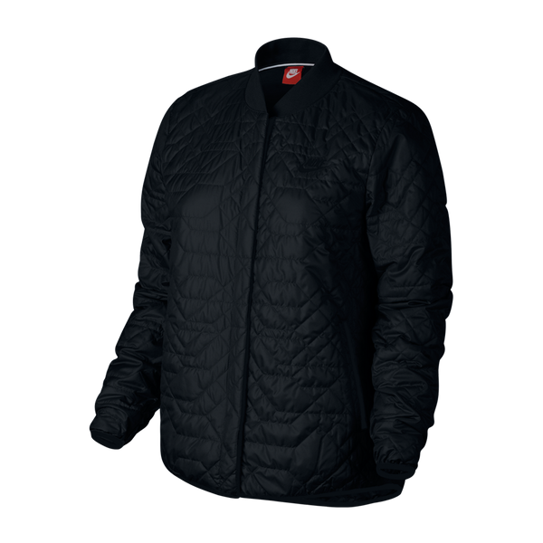 Nike Women's NSW Quilted Jacket Black