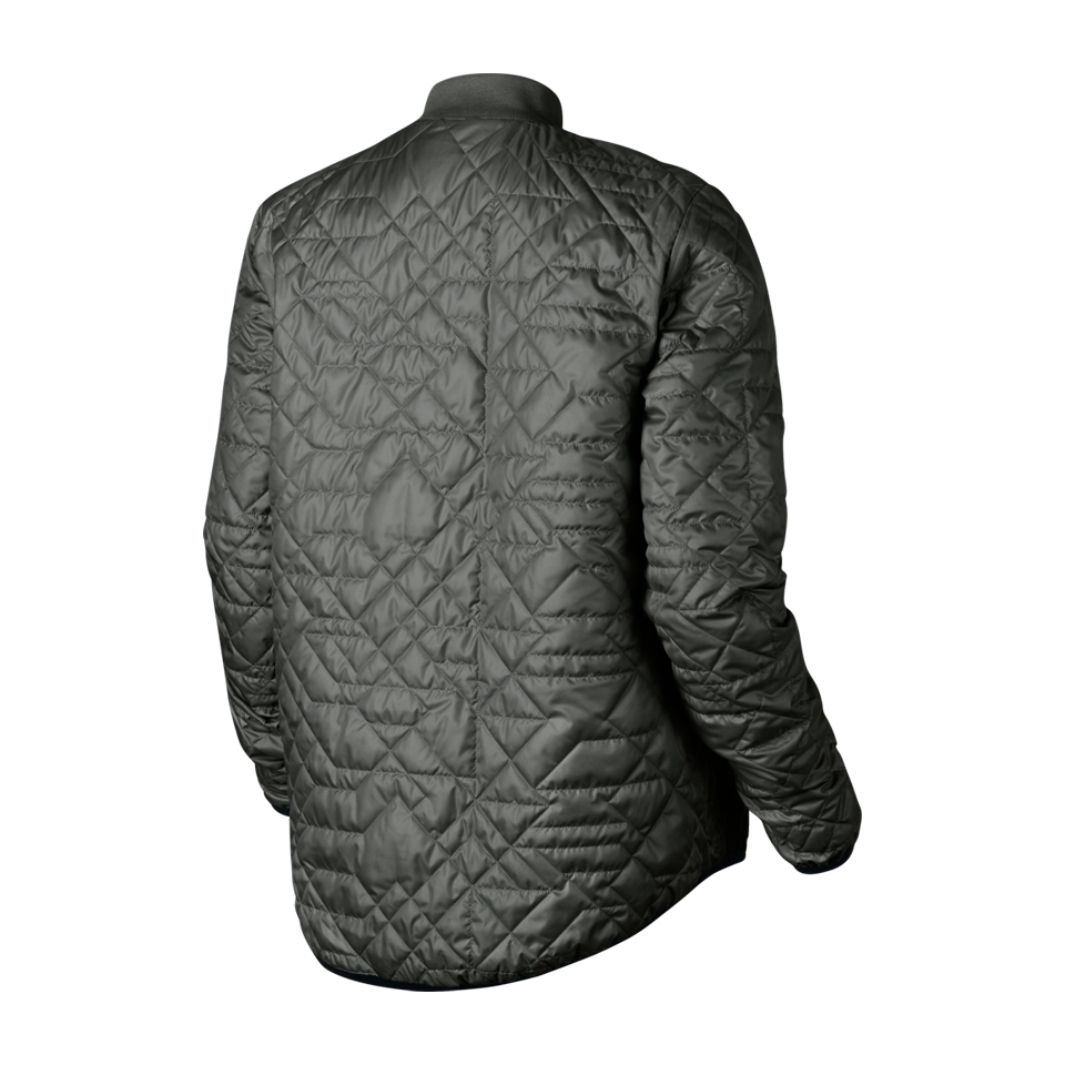 Nike Women S Nsw Quilted Jacket River Rock Play Stores Inc