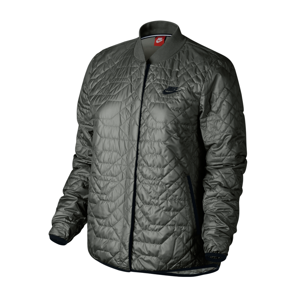 78865b38497f Nike Women s NSW Quilted Jacket River Rock - Play Stores Inc
