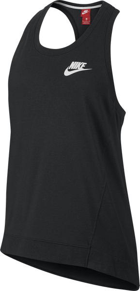 Nike Women's Gym Tank Black Heather