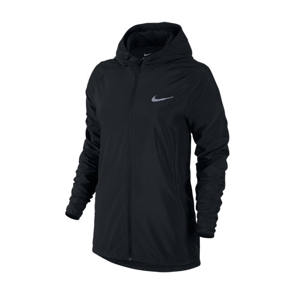 Nike Women's Essential Jacket Hooded Black