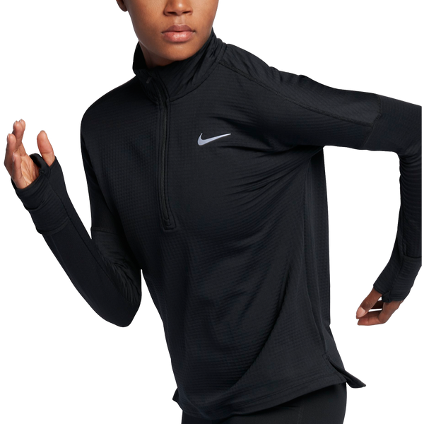 Nike Women's Therma Sphere Element 1/2 Zip Black