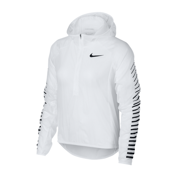 Nike Women's Impossibly Light Popover Jacket White
