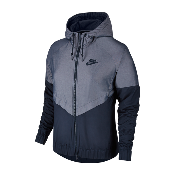 Nike Women's Windrunner Jacket Chambray Obsidian