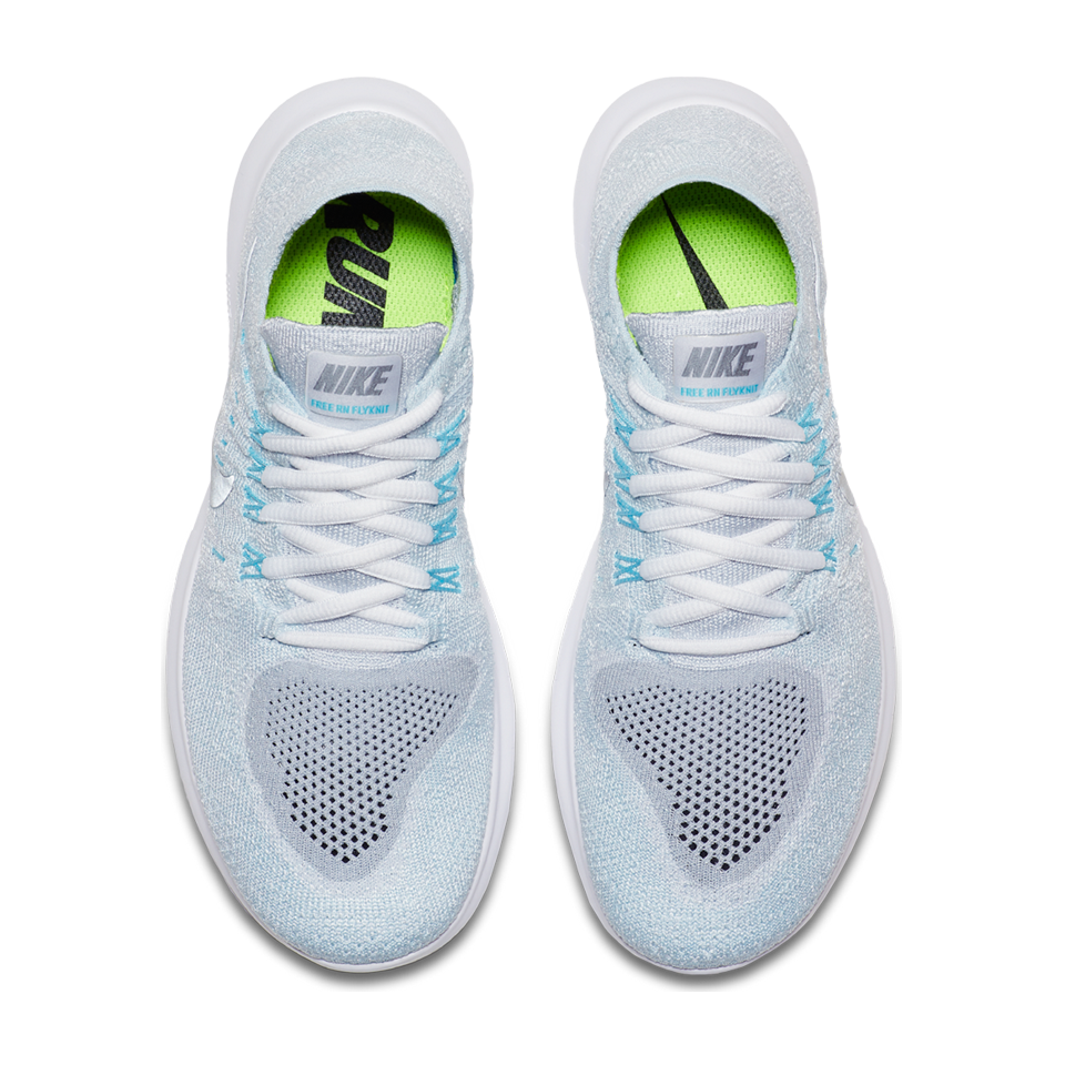 7f7c831bb6df3 Nike Women s Free RN Flyknit 2017 Pure Platinum - Play Stores Inc