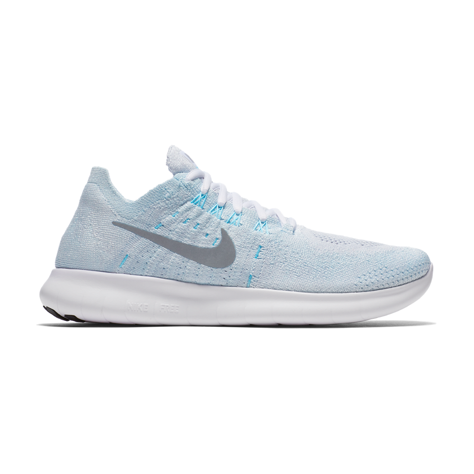 d5bc32a1a551cb Nike Women s Free RN Flyknit 2017 Pure Platinum - Play Stores Inc