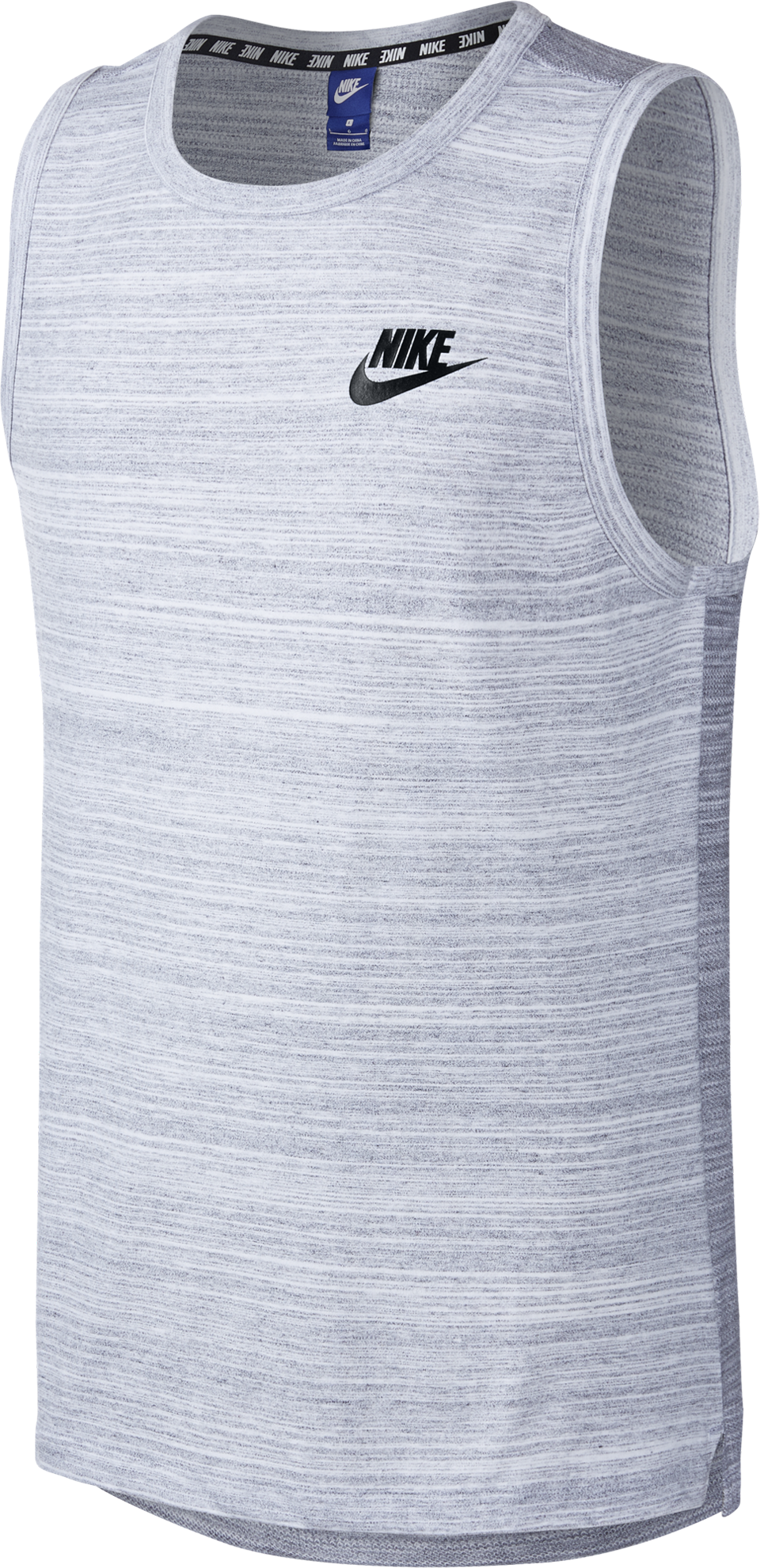 Nike Men's Sportswear Advance 15 Tank White