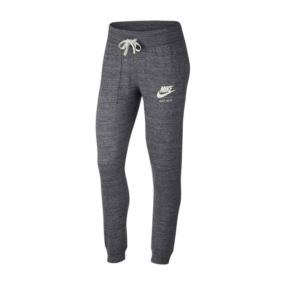cc9e2a8772f5 Nike Women s NSW Gym Vintage Pant Charcoal Heather - Play Stores Inc