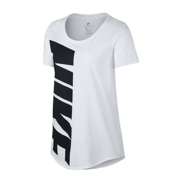 Nike Women's Graphic Tee Short Sleeve White