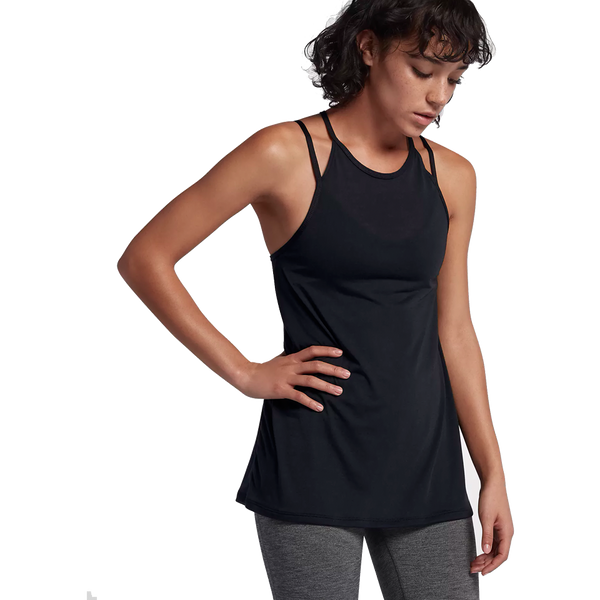 Nike Women's Dry Fit Tank Black/Dark Grey