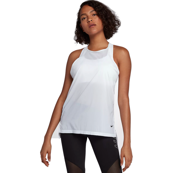 Nike Women's Flex Training Tank White