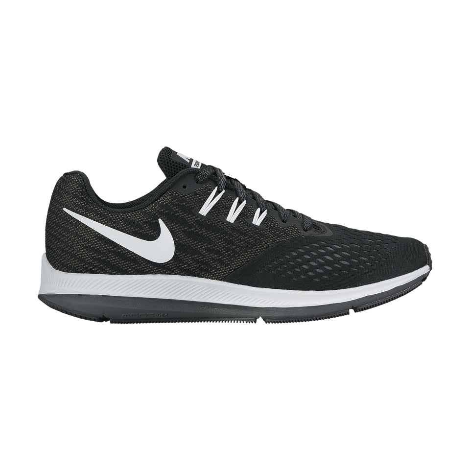 Nike Men's Air Zoom Winflo 4 Black/White