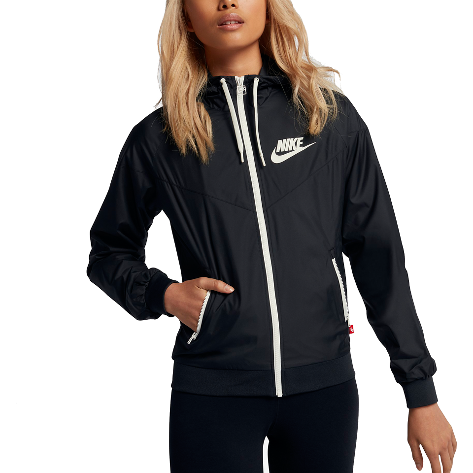 4dd9756bbdb5 Nike Women s Windrunner Jacket Black - Play Stores Inc