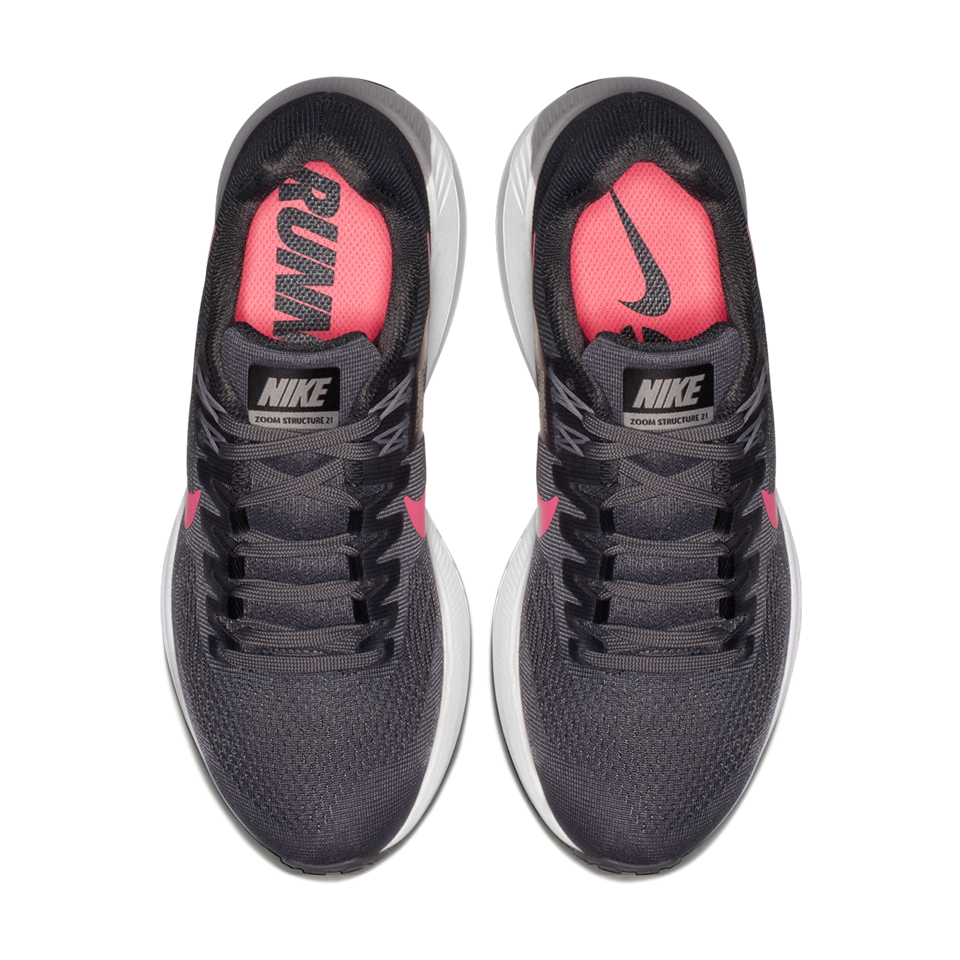 95e15a4826f4 Nike Women s Air Zoom Structure 21 Gunsmoke Sunset Pulse - Play ...