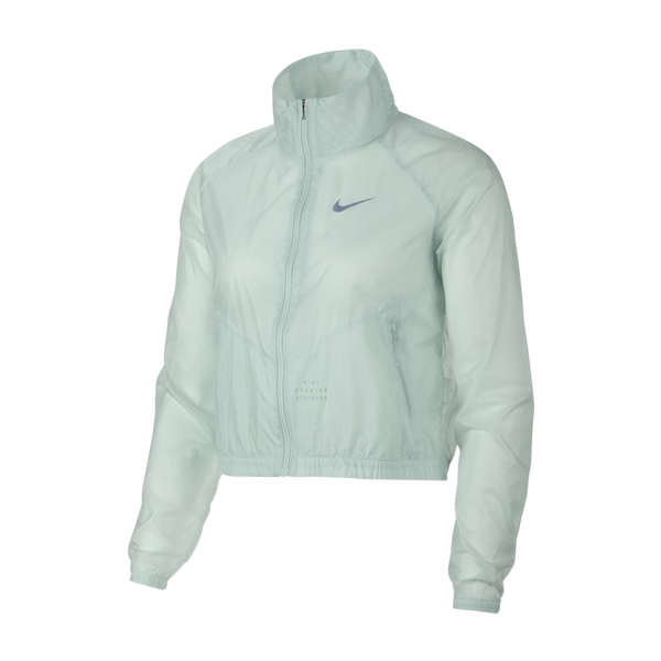 Nike Women's Cropped Running Jacket Barely Grey