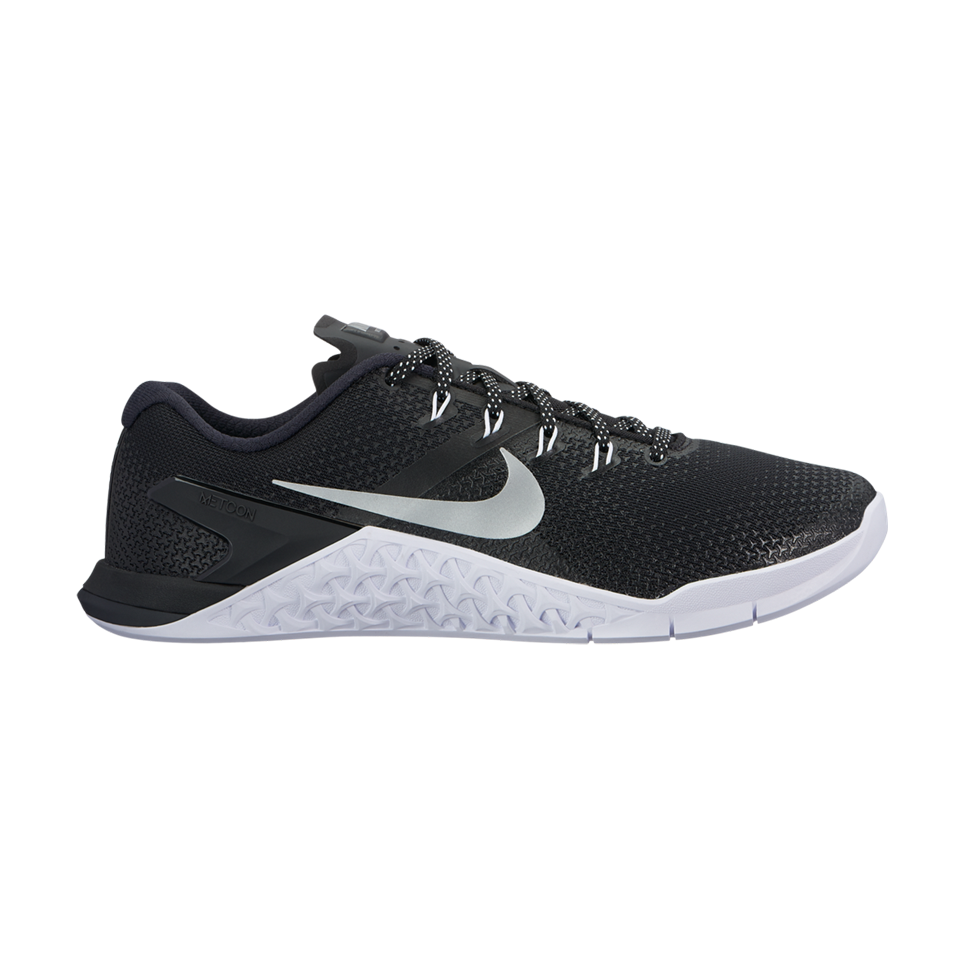new product a2ce8 9c0d0 Nike Womens Metcon 4 BlackMetallic Silver - Play Stores Inc
