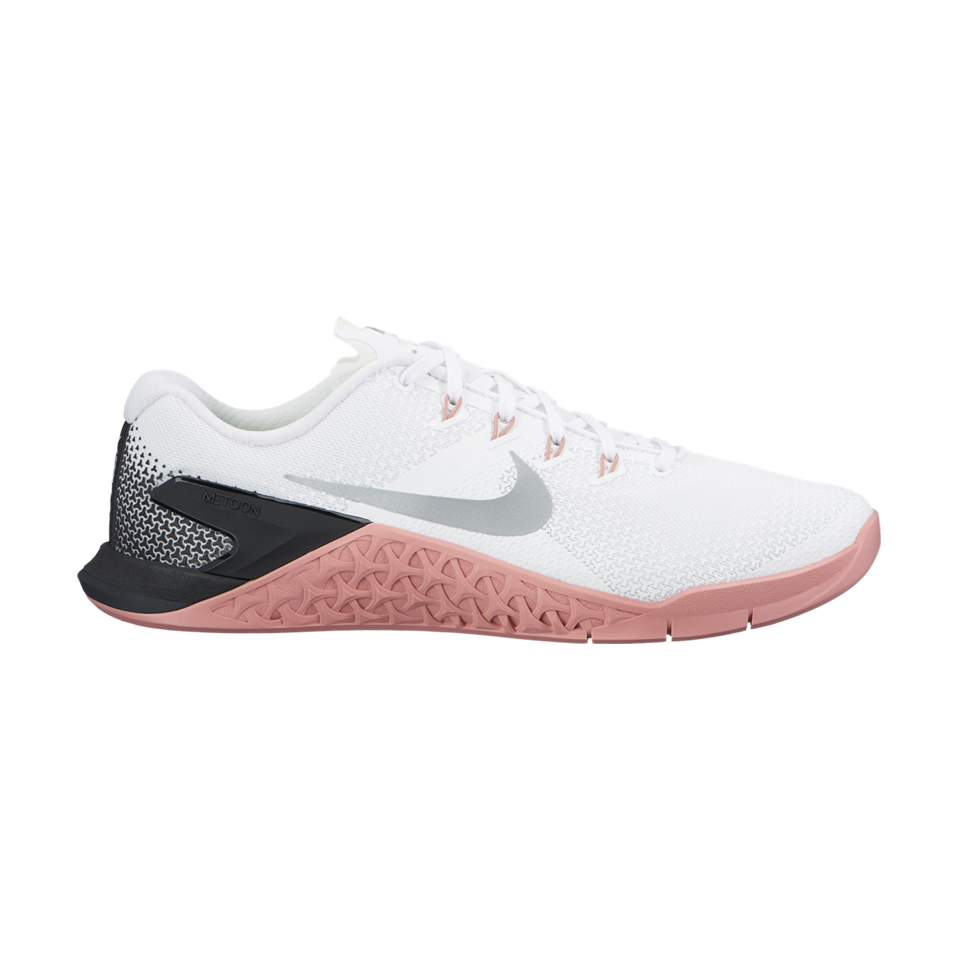bcb4f46756be Nike Women s Metcon 4 White Metallic Silver - Play Stores Inc