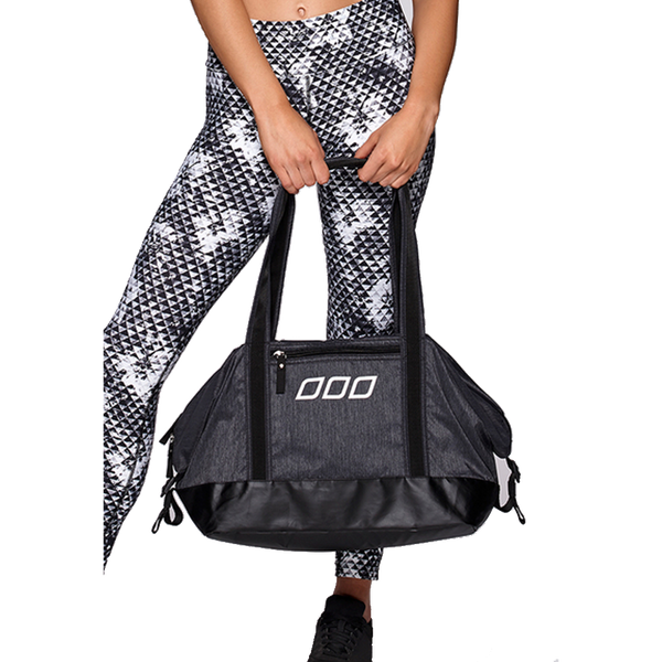 Lorna Jane Iconic Gym Bag Charcoal Marl