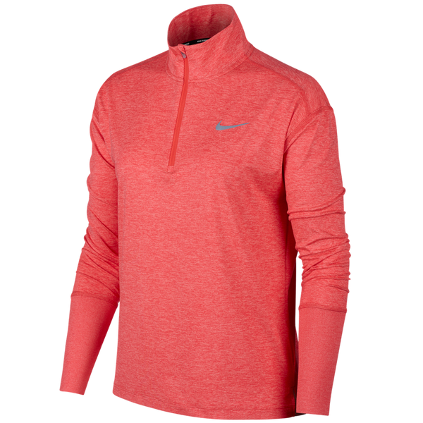 Nike Women's Element 1/2-Zip Running Top Ember Glow