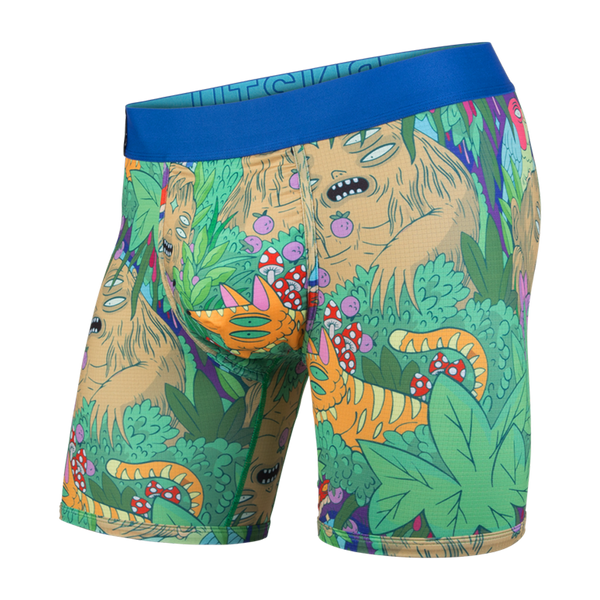 BN3TH Men's Entourage Boxer Brief Lurking In The Jungle