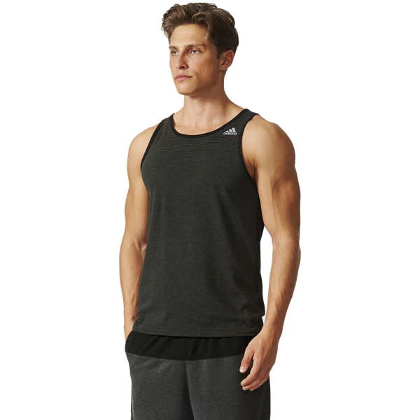 Adidas Men's Aeroknit Tank Black