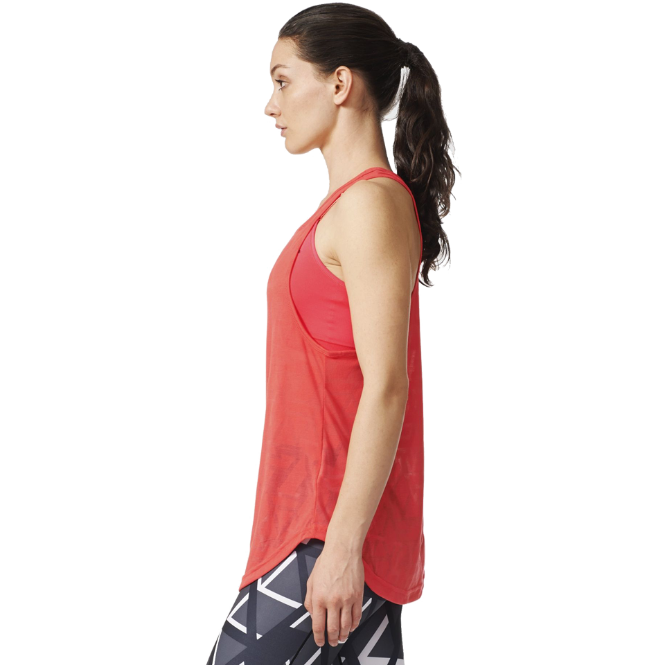 Adidas Women's Yogi Tank Shock Red