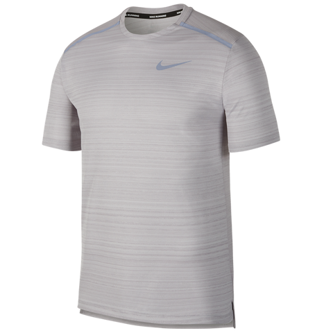 e8cc0633 Nike Men's Dri-FIT Miler Short-Sleeve Running Top Atmosphere Grey