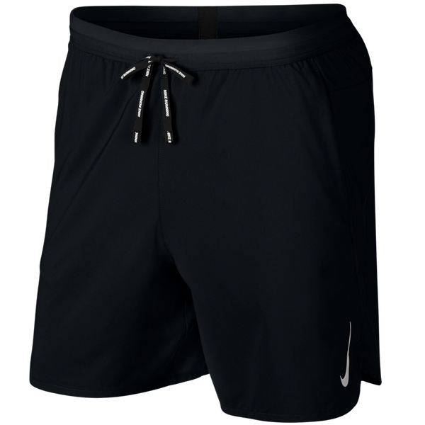 "Nike Men's Dri-FIT Flex Stride 7"" 2-in-1 Running Shorts Black"